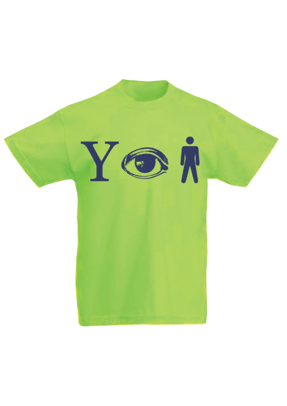 Kids Why Aye Man T-shirt Green